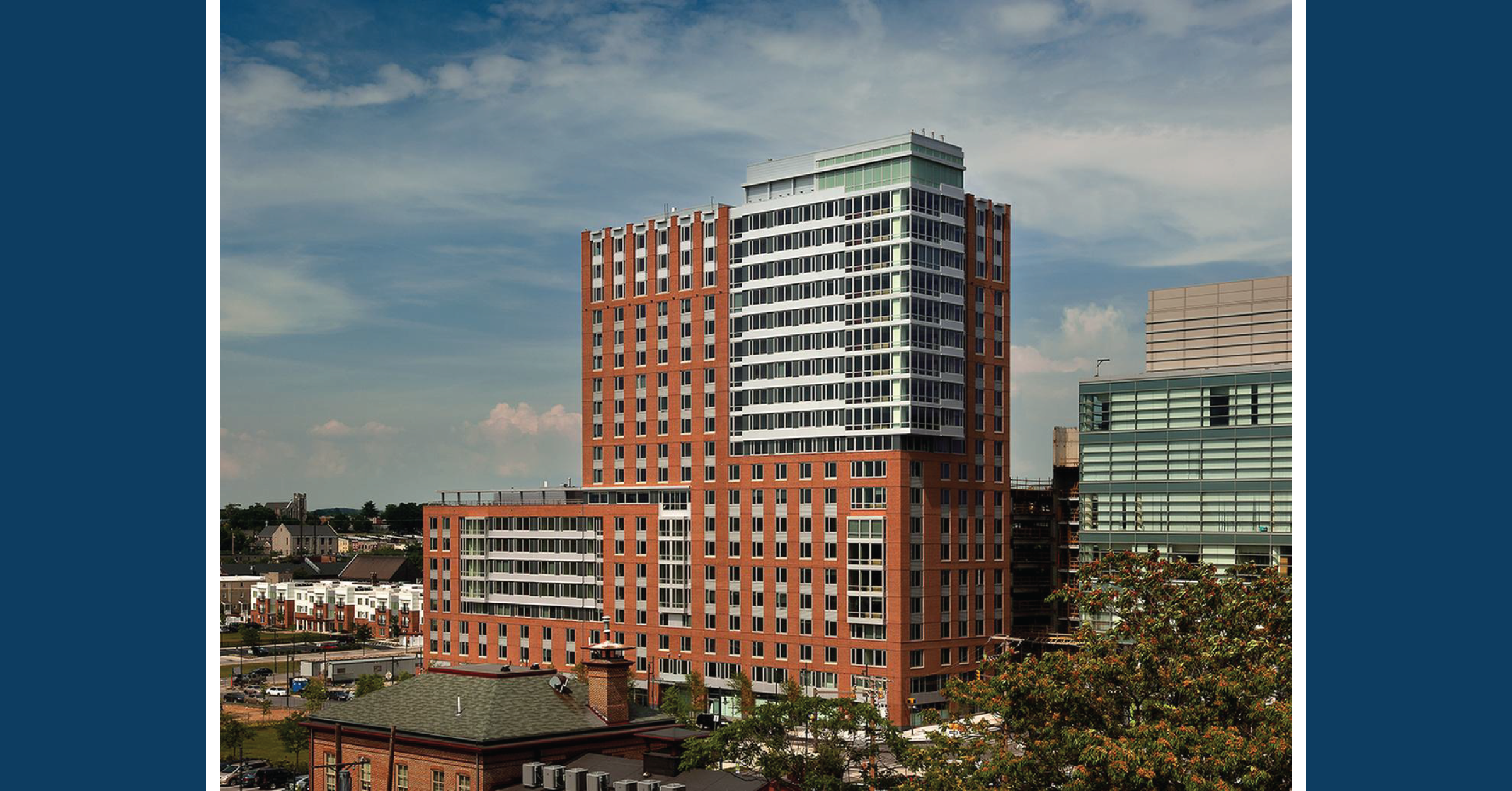 COCM Awarded Management of 929 Apartments in Eager Park located near Johns Hopkins University Medical Campus